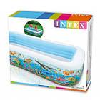 Надувний басейн Intex 58485 Тропічний риф, дитячий, для дітей, інтекс для дачі, сім'ї, фото 4