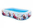 Надувной бассейн Frozen Intex 58469  Холодное сердце, интекс, детский для дачи, детей, фото 3