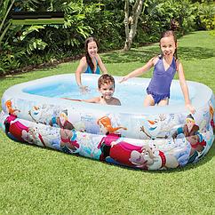 Надувной бассейн Frozen Intex 58469  Холодное сердце, интекс, детский для дачи, детей