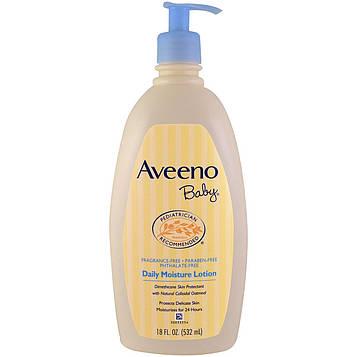 Aveeno, Для детей, ежедневный увлажняющий лосьон, без запаха, 18 жидких унций  (532 мл)