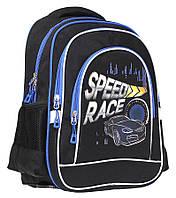 """Ранець-рюкзак """"Class"""" """"Speed Race"""", 2 відд., 38*28*18см, 300D PL, 9939, шт, фото 1"""