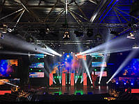Rental of lighting equipment:Set of lighting equipment