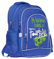 """Ранець-рюкзак """"Class"""" """"Football"""", 2 відд., 38*28*18см, 300D PL, 9938, шт, фото 1"""