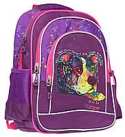 """Ранець-рюкзак """"Class"""" """"Dog"""", 2 відд., 38*28*18см, 300D PL, 9934, шт, фото 1"""