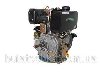 Дизельный двигатель Grünwelt GW192FE (14 л.с., шпонка - 25мм)