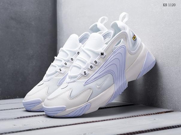 Мужские кроссовки Nike Zoom 2K белые / чоловічі кросівки Найк (Топ реплика ААА+)