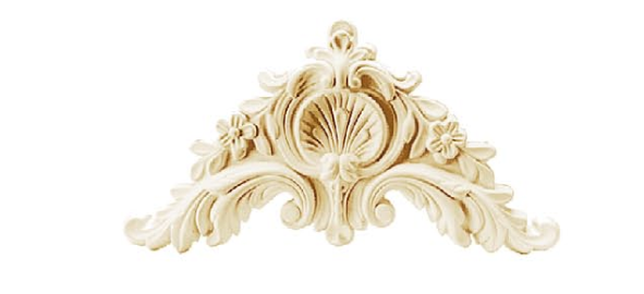 Орнамент Classic Home HW-53290 (290*155*25 mm)  лепной декор из полиуретана,