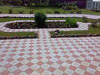 Тротуарная плитка лилия или гжель 45мм