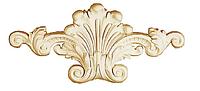 Орнамент Classic Home HW-53480 (475*215*45 mm)  лепной декор из полиуретана,