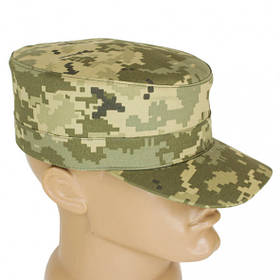 Кепка для военных, пиксель. Солдатский головной убор.