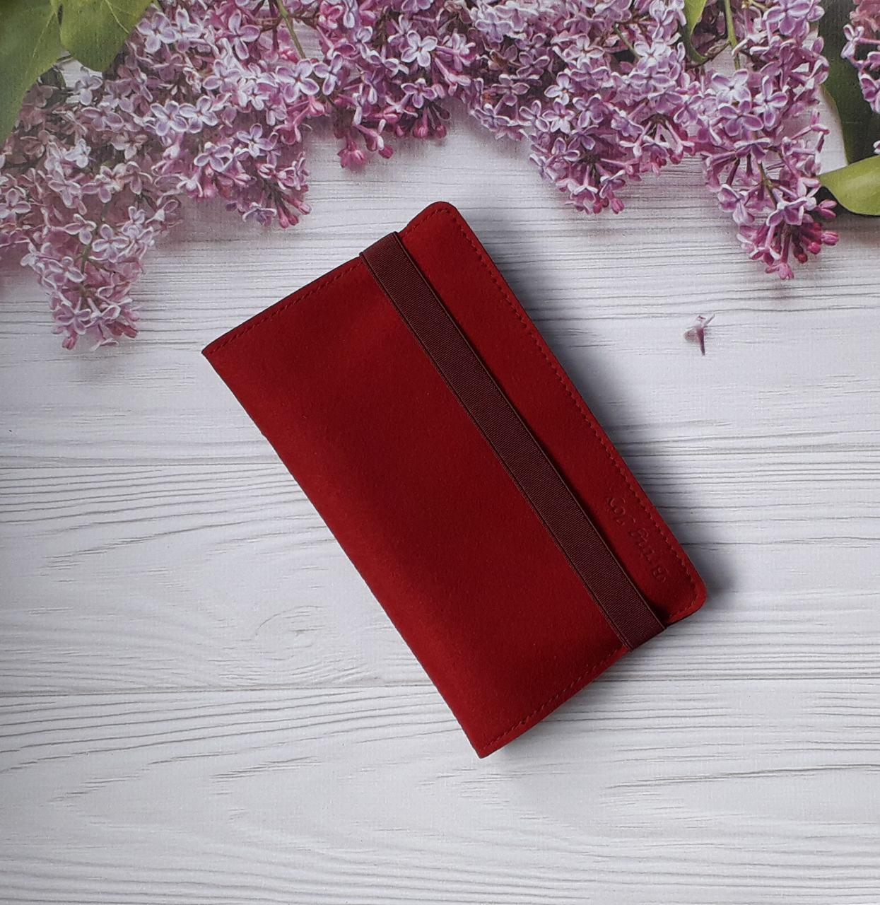 Чехол для PowerBank, Velour Red