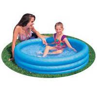 Детский надувной бассейн Intex 59416 «Кристалл», 114 х 25 см