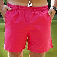 Плавательные шорты мужские летние стильные, цвет красный