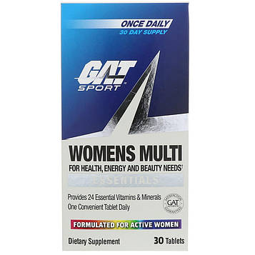 GAT, Мультивитамины для женщин, 30 таблеток