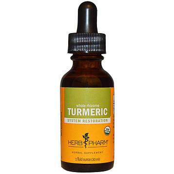 Herb Pharm, Экстракт куркумы, 1 жидкая унция (29,6 мл)