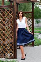 Топ и юбка с вышивкой Ю01-291/ Б01-213, фото 1