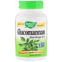 Natures Way, Glucomannan from Konjac Root, 665 mg, 100 Vegetarian Capsules