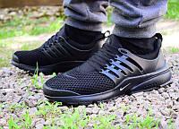 Кроссовки мужские Nike Air Presto черные 0037