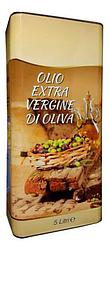 Олія оливкова Olio Extra Verdgine di oliva, 5л