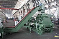 Пресс для брикетирования железной стружки 630 тонн