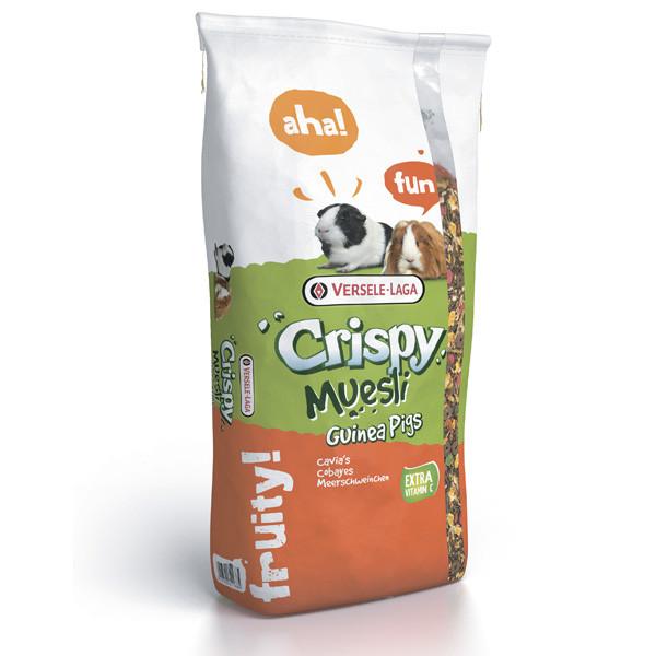 Versele-Laga Crispy Muesli Guinea Pigs ВЕРСЕЛЕ-ЛАГА КРИСПИ МЮСЛИ МОРСКАЯ СВИНКА корм для морских свинок
