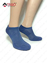 Носки мужские бамбуковые Taso с резинкой на стопе, цвет Джинсовый, размер 25