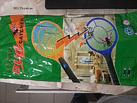 Мухобойка Ракетка на батарейках электрическая fly-swat, фото 1
