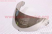 Визор, стекло для мотошлема тонированное  (на Mustang)