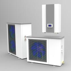 Тепловой насос воздух-вода TEPLOMIR TFA06EVIS