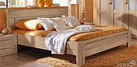 """Кровать двуспальная из дерева Двухспальная кровать из массива Деревянная кровать 160*200 """"Анна"""""""