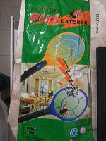 Трехслойная мухобойка электрическая fly-swat, ракетка – мухобойка аккумуляторная Foetsie, фото 1