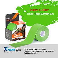 Кинезио тейп Tmax Tape 5см х 5м Салатовый