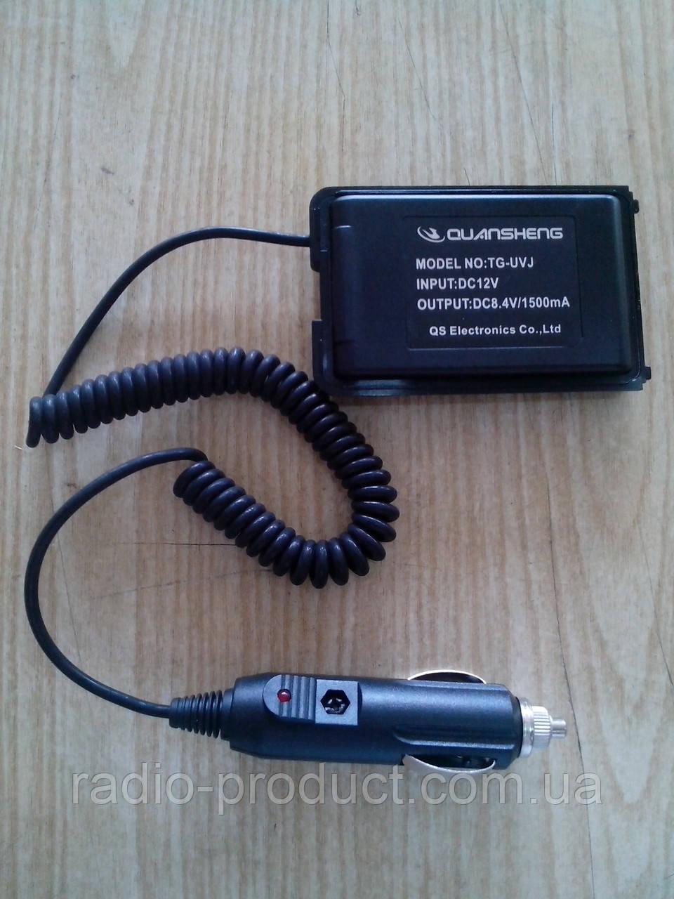 Питание от прикуривателя для радиостанции Quansheng TG-UV2