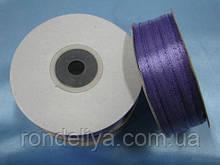 Стрічка атлас 0,3 см 90 м світло-фіолетова