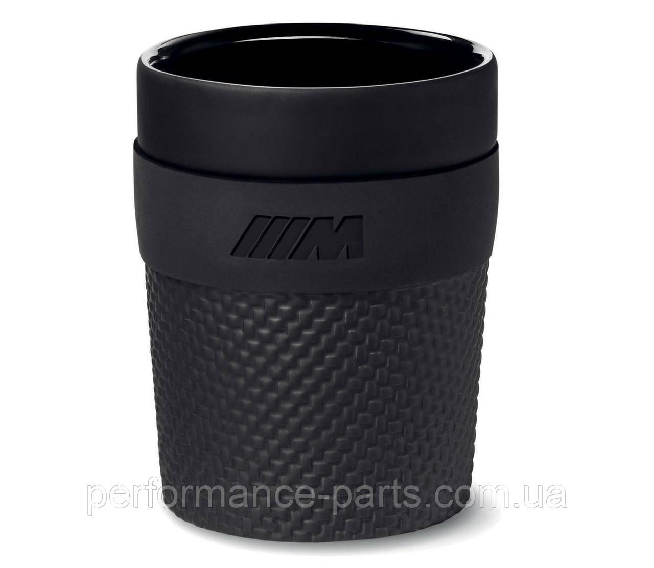 Кружка, чашка BMW M Cup, 80232454743. Оригинал. Черного цвета.