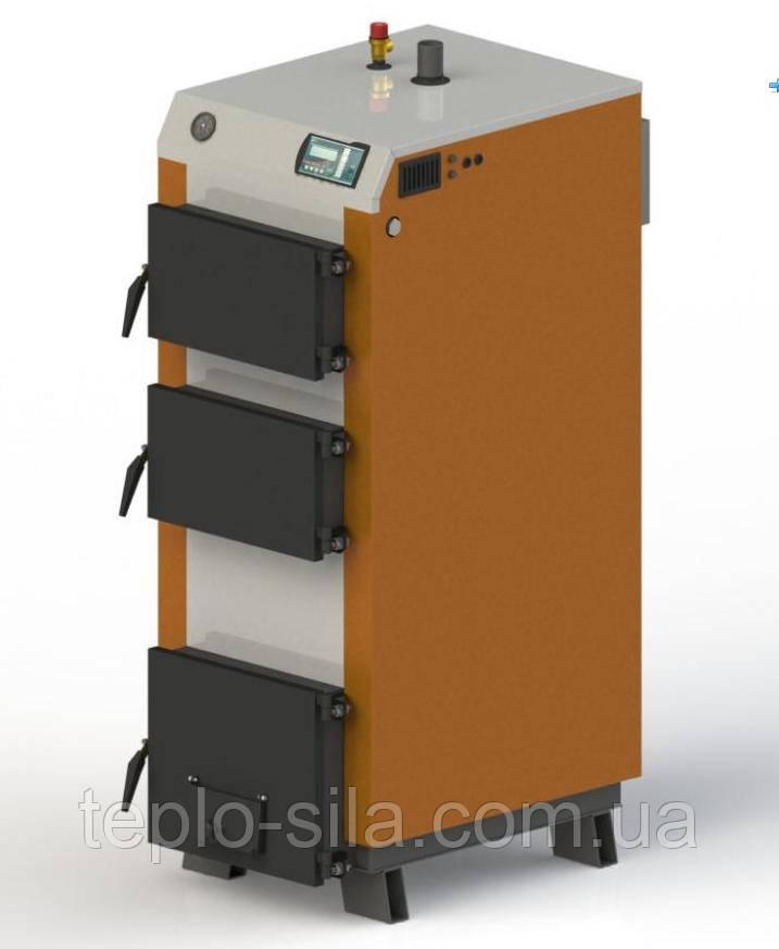 """Твердопаливний котел «КГ-30» з електронною автоматикою """"TECH"""" і функцією zPID"""