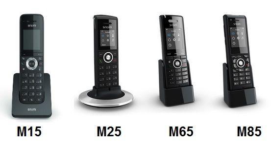 IP-DECT-телефоны Snom