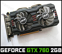 ASUS GeForce GTX 760 2GB GDDR5 256-bit HDMI PCI-E (GTX760) Видеокарта