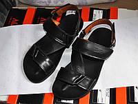 Мужские кожаные сандали в наличии 41
