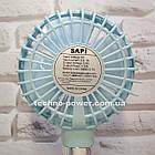 Портативный мини-вентилятор Handy Fan S8 Blue. Ручной вентилятор с аккумулятором S8 Фиолетовый, фото 6
