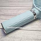 Портативный мини-вентилятор Handy Fan S8 Blue. Ручной вентилятор с аккумулятором S8 Фиолетовый, фото 9