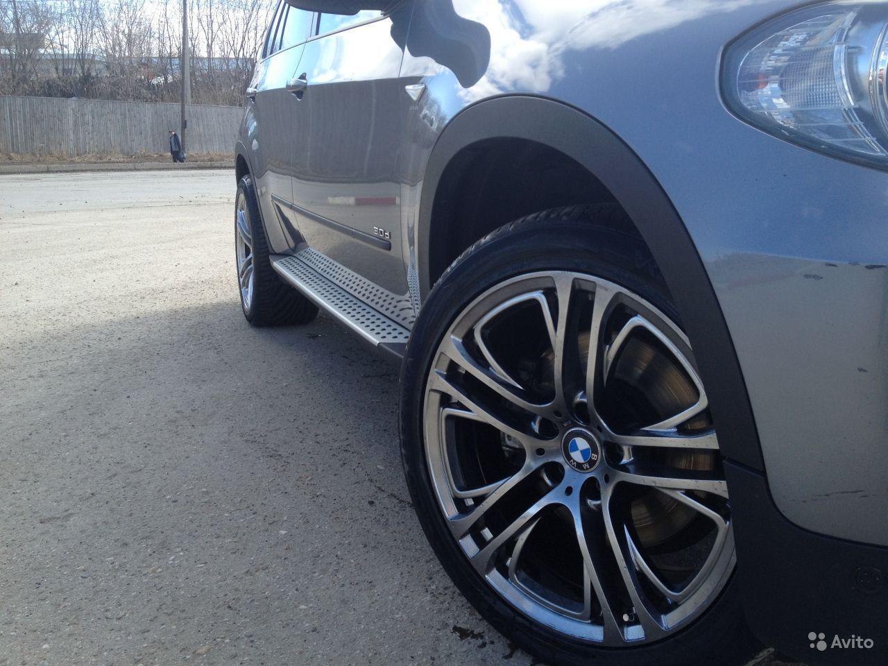 Накладки на арки BMW X5 E70 (ABS-пластик), фото 1