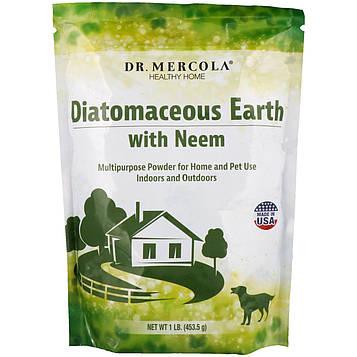 Dr. Mercola, Diatomaceous Earth with Neem, 1 lb (453.5 g)