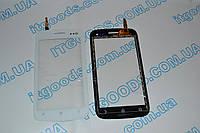 Оригинальный тачскрин / сенсор (сенсорное стекло) для Fly IQ450 Horizon (белый цвет) + СКОТЧ В ПОДАРОК