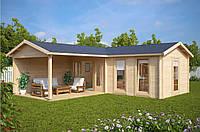 Дом деревянный из профилированного бруса 3х7. Скидка на домокомплекты на 2020 год