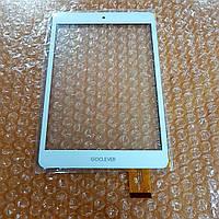 Сенсор (тачскрин) GoClever Quantum 785 белый оригинал HH070FPC-039A-DST