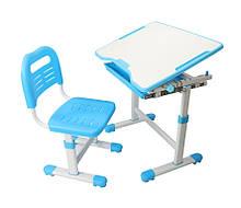 Парта и стульчик FunDesk для школы Sole Blue