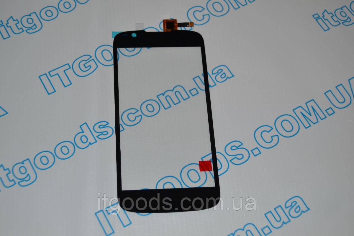 Оригинальный тачскрин / сенсор (сенсорное стекло) для Fly IQ4413 (черный цвет) + СКОТЧ В ПОДАРОК