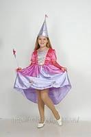 Прокат костюма «ФЕЯ» платье+сиреневые крылья