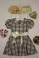 Платье детское Барбари  28 Коричневый